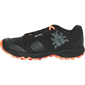 Icebug Pytho4 BUGrip Shoes Damen black/neonpeach